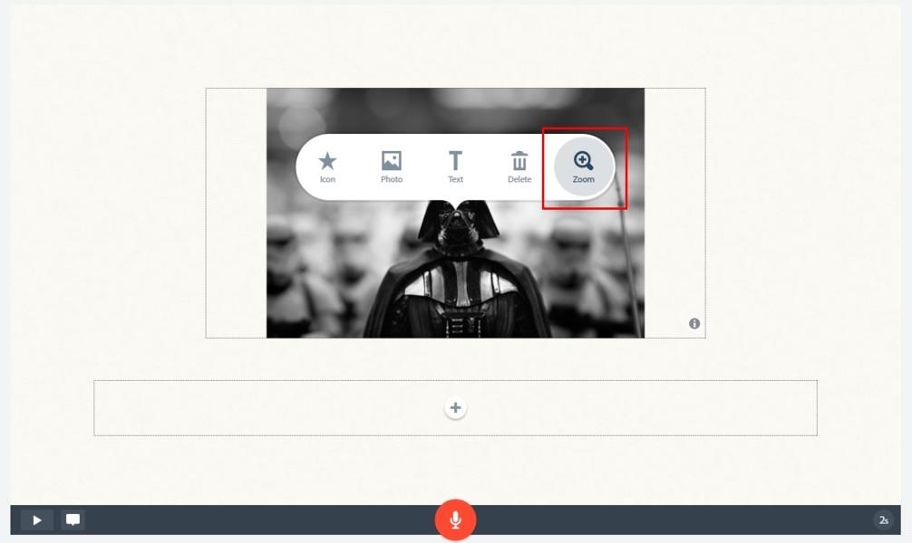 Tutorial Adobe Spark video para redes sociales 12