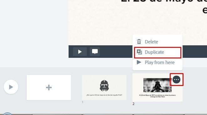 Tutorial Adobe Spark video para redes sociales 16