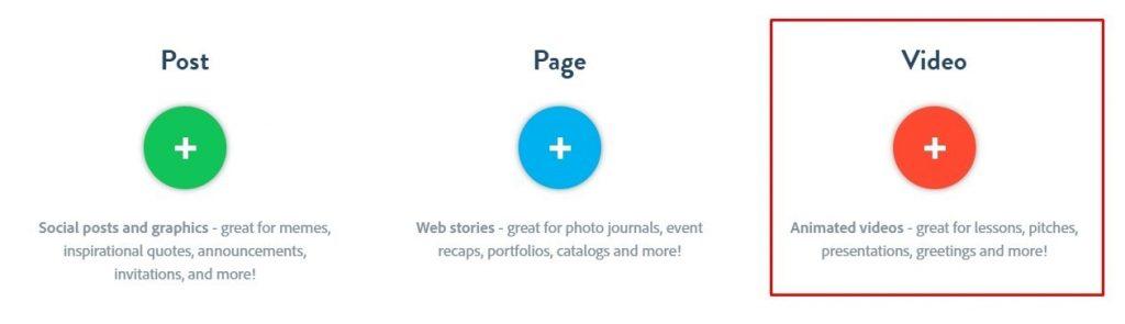 Tutorial Adobe Spark video para redes sociales 1