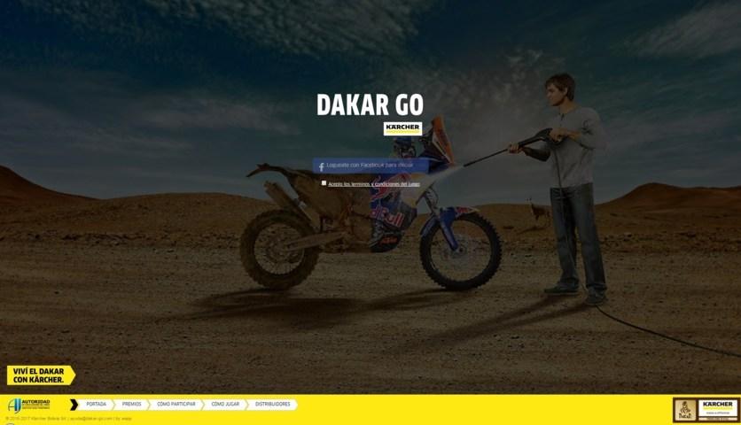 Dakar Karcher Bolivia reglas