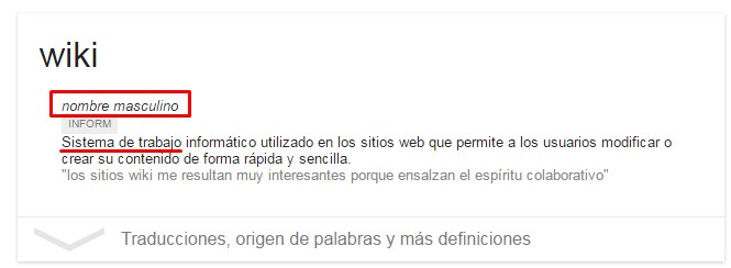 Definicion Wiki