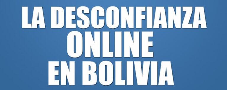 eBook gratuito: La desconfianza online en Bolivia