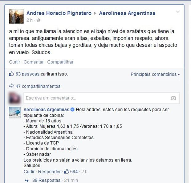 Divertidos-ejemplos-de-marcas-respondiendo-a-trolls---Aerolineas argentinas
