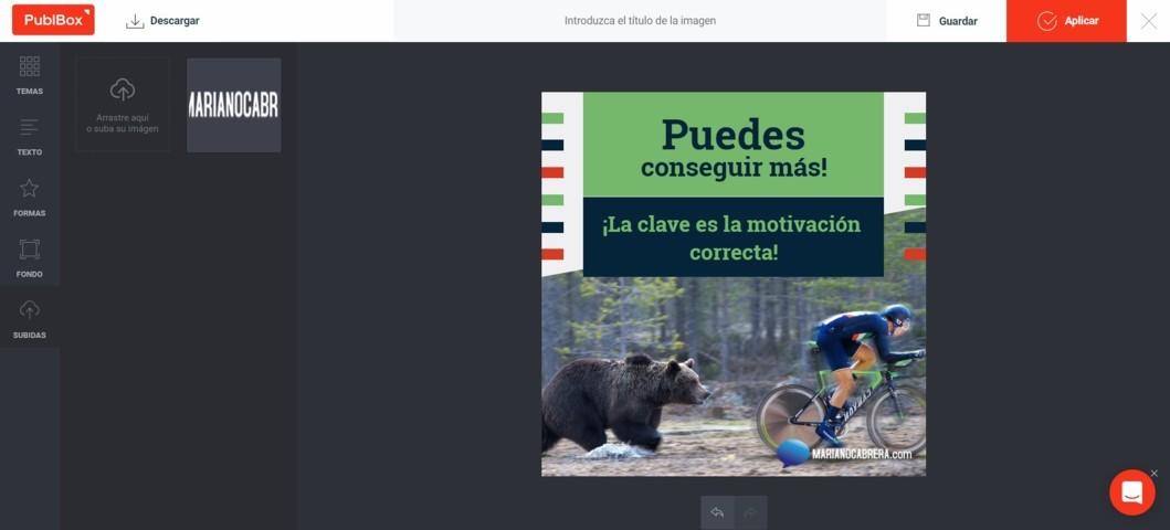 Editor Imagenes PublBox