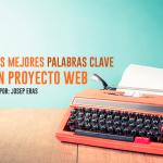 Elegir palabras clave proyecto web