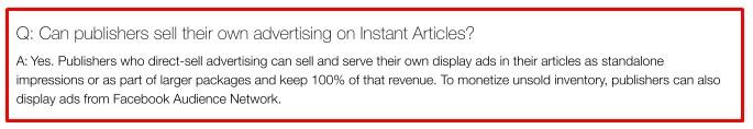 Facebook Instant Articles 1
