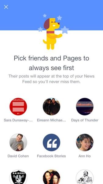 Feed personalizado en Facebook 2