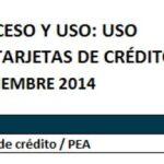 Grafico 6 - tarjetas de crédito y de débito en Bolivia