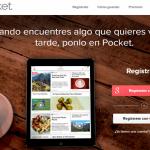 Herramientas digitales Pocket