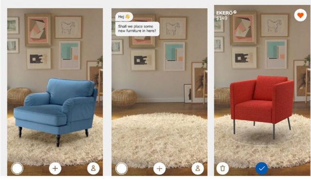 vender mas con una tienda Ikea realidad aumentada