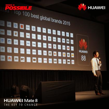Lanzamiento Huawei Bolivia Mate 8 - 17