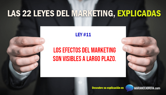 Ley del marketing 11