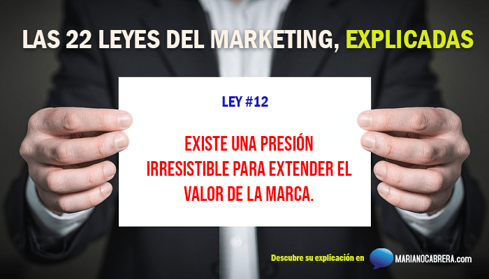 Ley del marketing 12