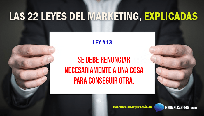Ley del marketing 13