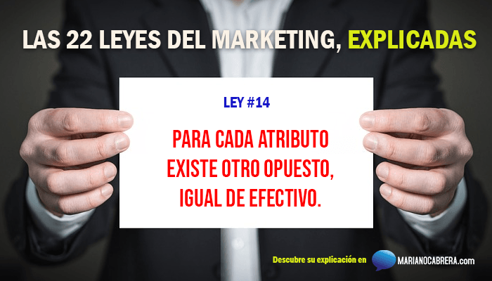 Ley del marketing 14