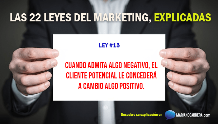 Ley del marketing 15