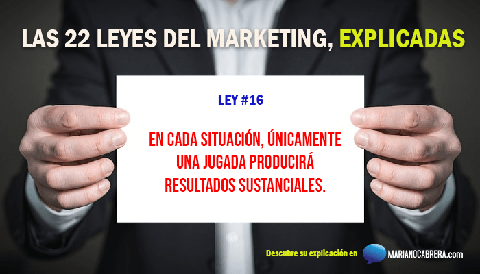 Ley del marketing 16