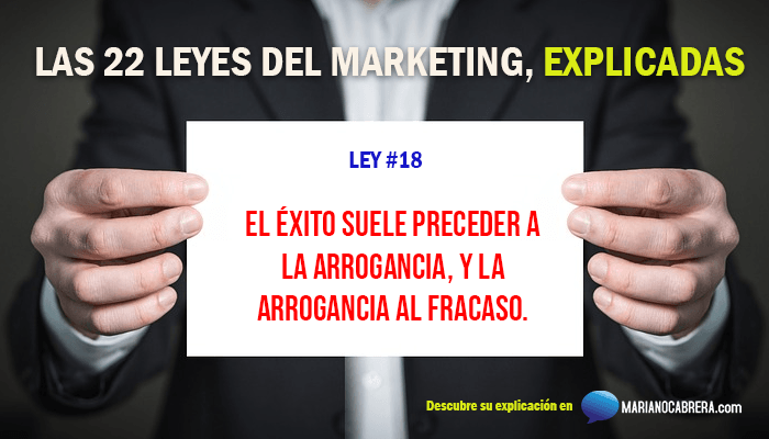 Ley del marketing 18