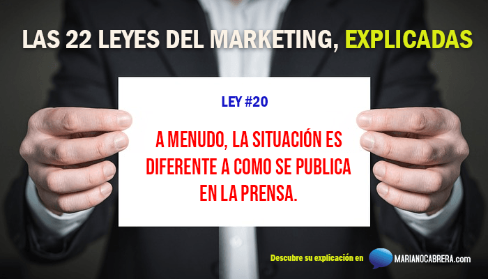 Ley del marketing 20