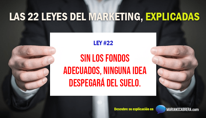 Ley del marketing 22
