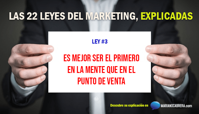 Ley del marketing 3