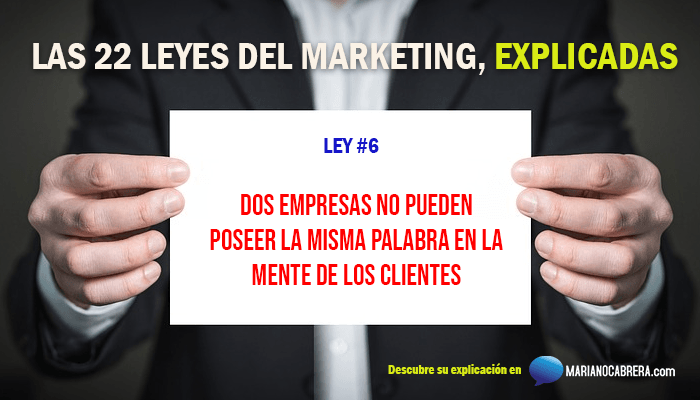 Ley del marketing 6