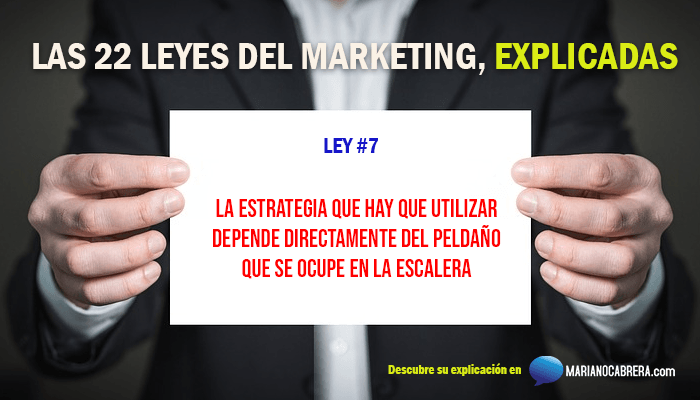 Ley del marketing 7