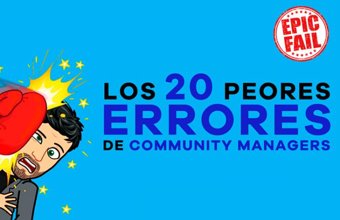 Los 20 peores errores de Community Managers 2