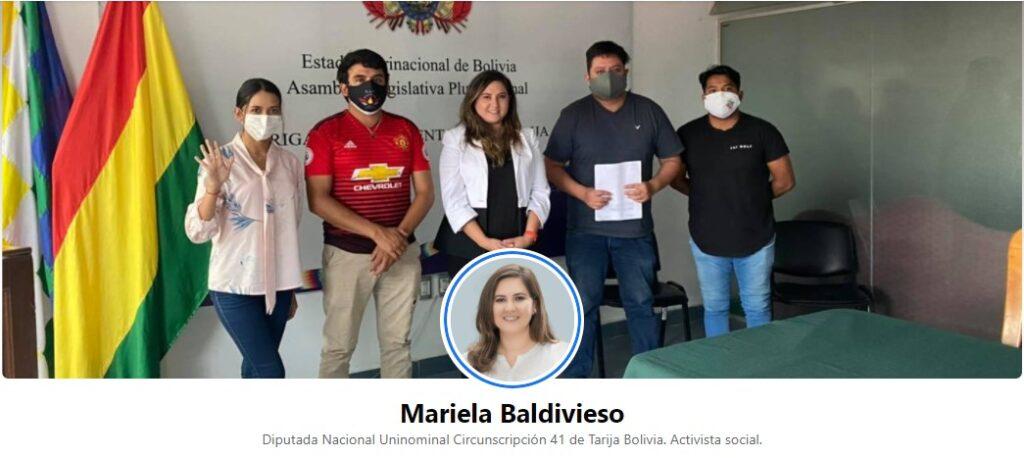 MAriela Baldivieso PayPal Bolivia