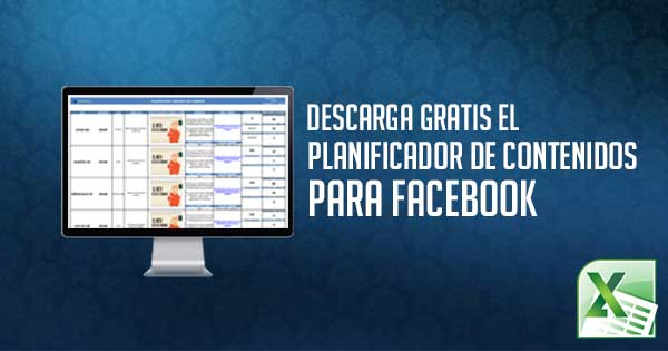 Planificador de contenidos para Facebook