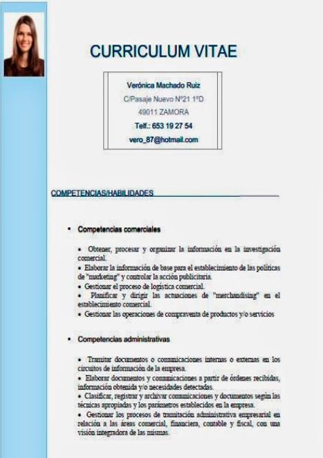 Guia Como Hacer Un Curriculum Vitae Plantillas Para Cv