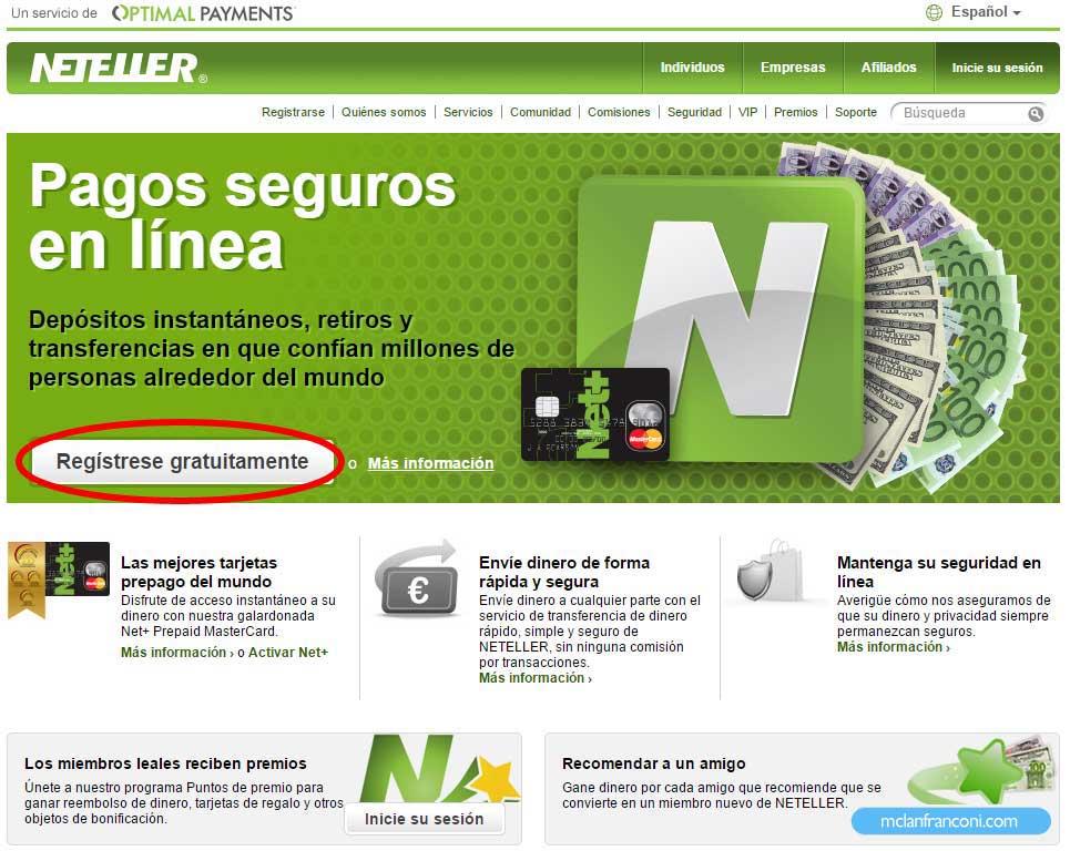 Guía Neteller Bolivia 1