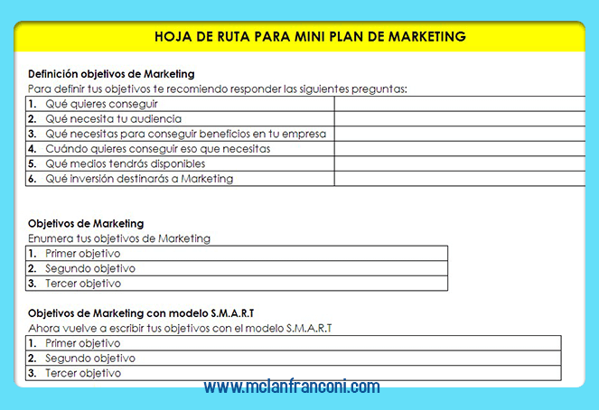 gratis 11 plantillas de planes de marketing para empresas bonus