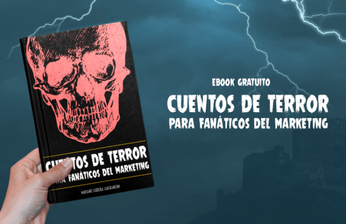 portada cuentos de terror para fanaticos del marketing