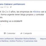 Predicciones marketing en bolivia mariano cabrera lanfranconi