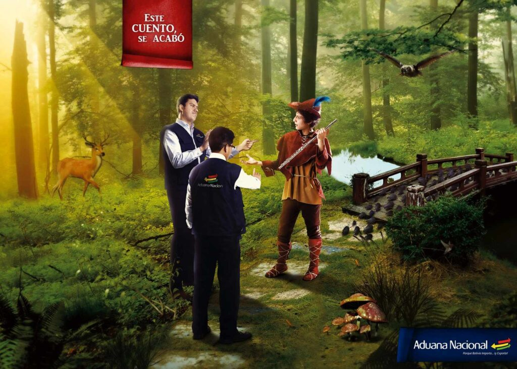 Publicidades de Bolivia aduana nacional