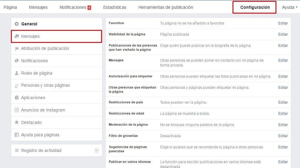 Respuestas automaticas en facebook 1 mclanfranconi