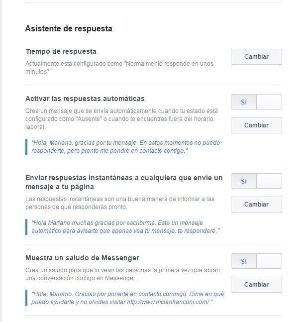 Respuestas automaticas en facebook 5 mclanfranconi