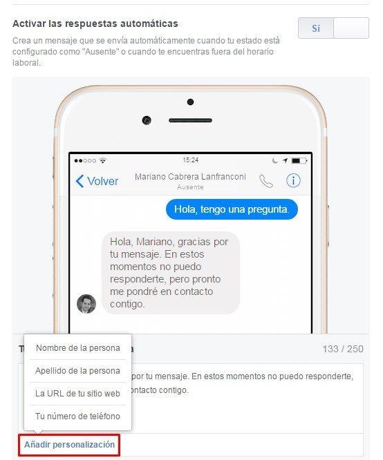 Respuestas automaticas en facebook 6 mclanfranconi
