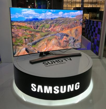 Samsung Bolivia TV SUHD 12