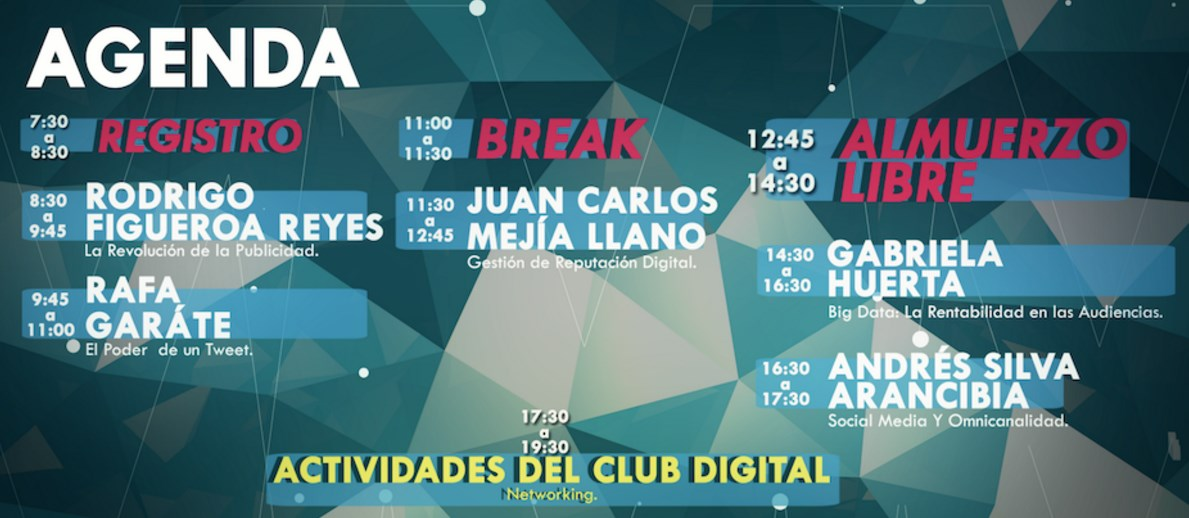 social media summit bolivia agenda