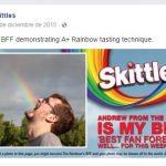 aumentar las interacciones en facebook skittles