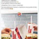 aumentar las interacciones en facebook mi herramienta burger king españa