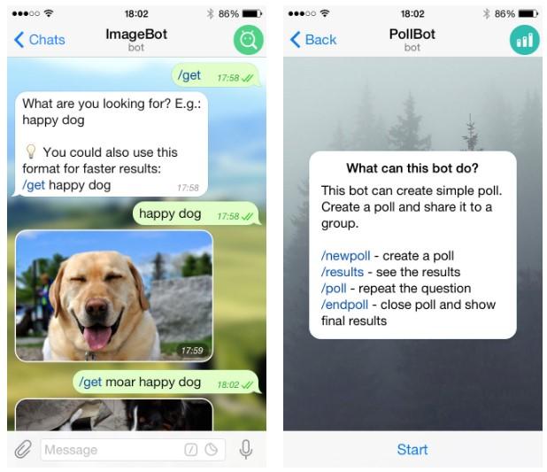 ChatBots para empresas Telegram
