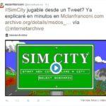 Sim City en un Tweet