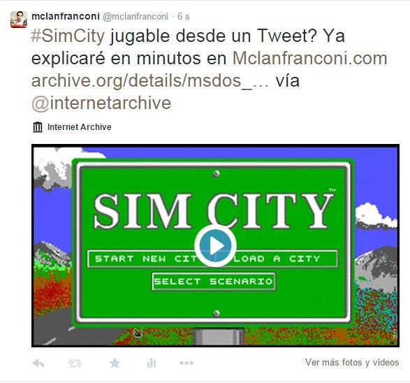 Compartir juego en twitter