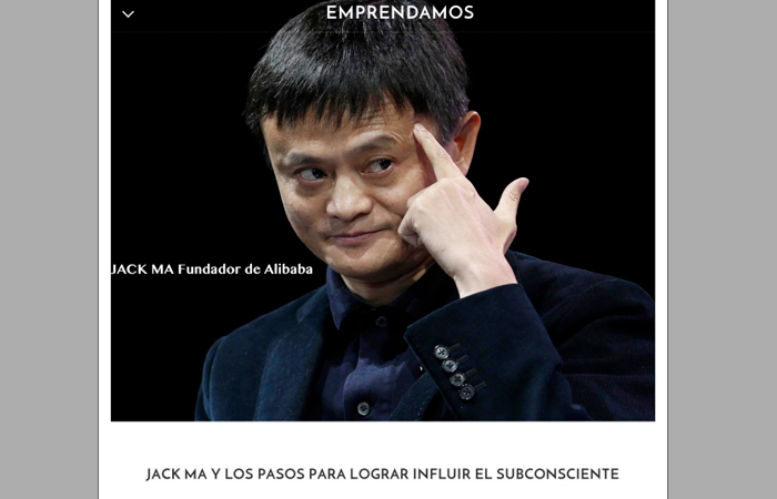Revista Emprendamos Jack Ma