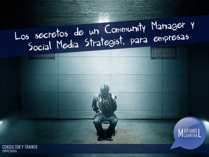Los secretos de un community manager