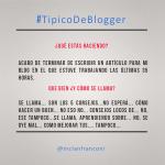 Tipico de blogger