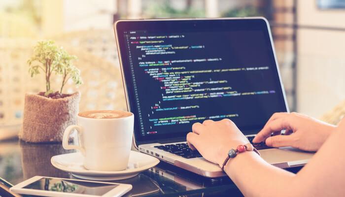 Trabajar desde casa diseñador web